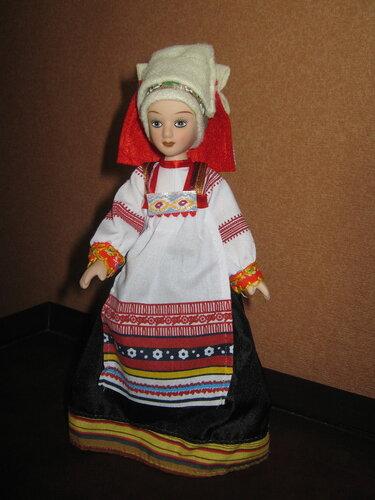 Куклы в народных костюмах №38 Кукла в праздничном костюме Курской губернии