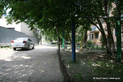 Площадку по ул. Пушкина, 69 заменило здание «Евразийского банка»
