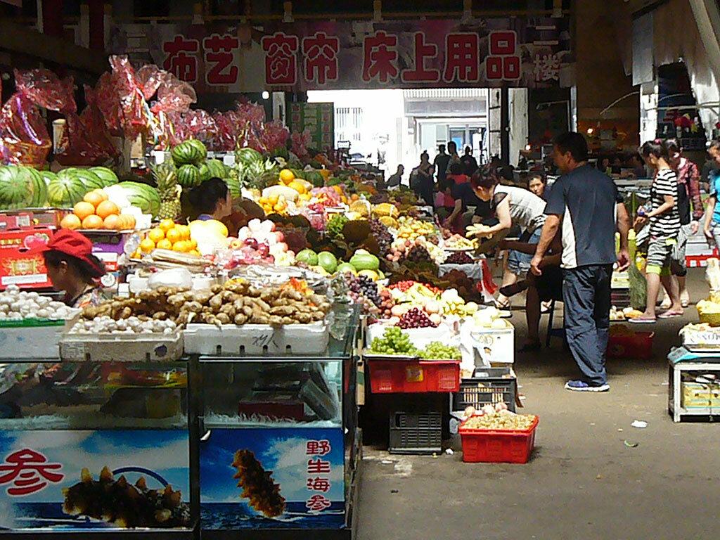 Рынок в Дзиси