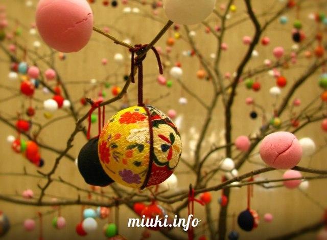 Японские новогодние украшения для дома