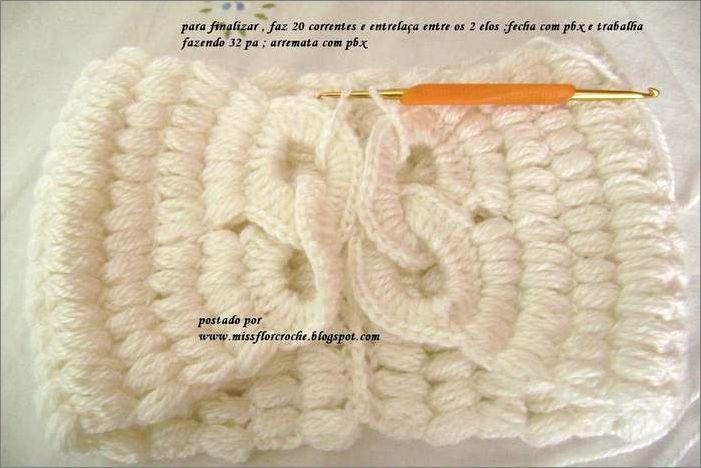 Шарфики и воротнички, вязание крючком