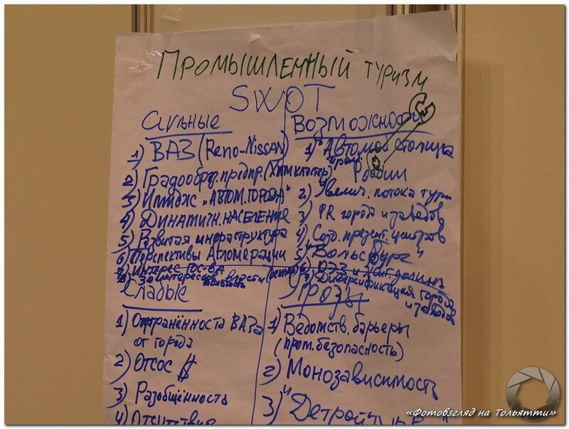 Промышленный туризм в Тольятти