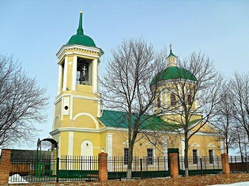 Преображенский храм, Головчино