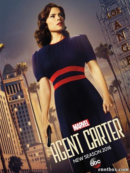 Агент Картер / Agent Carter - Полный 2 сезон [2016, WEB-DLRip | WEB-DL 1080p] (LostFilm)