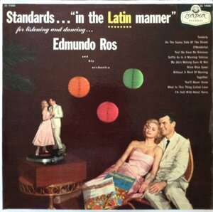 Edmundo Ros and his orchestra - Standards...in the Latin manner (1965) [London records, LL 1466]