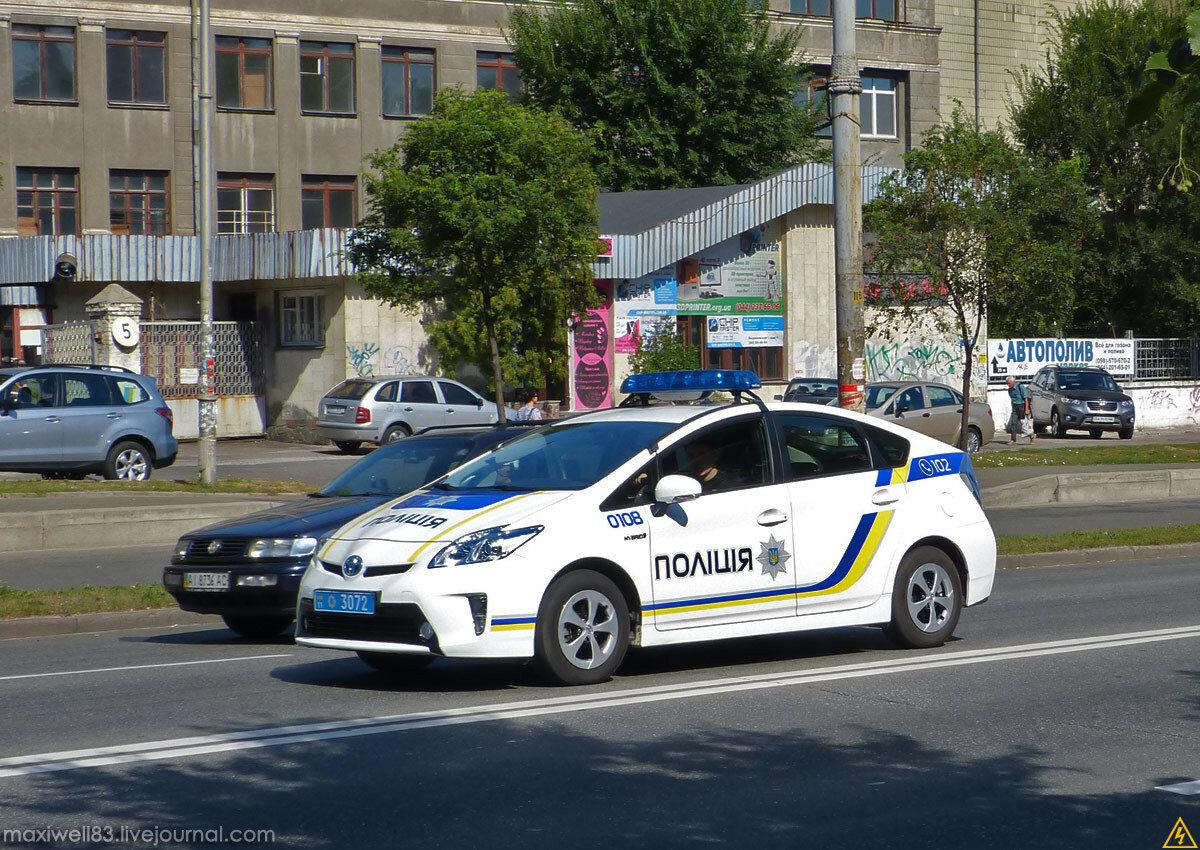 Toyota Prius III — Поліція