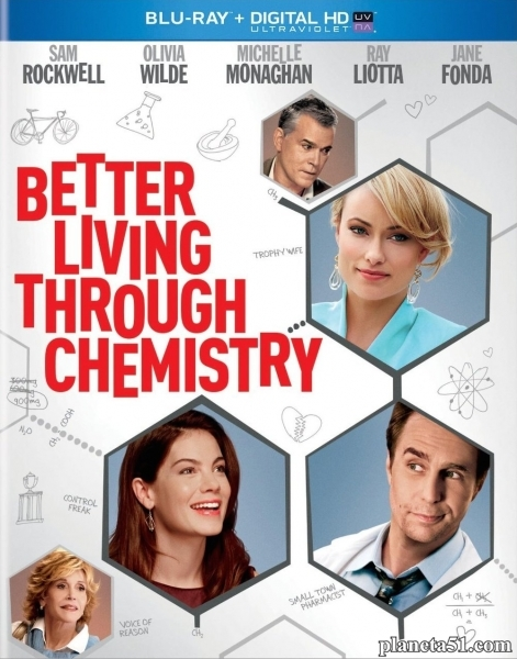 Любовь, секс и химия / Better Living Through Chemistry (2014/BDRip/HDRip)