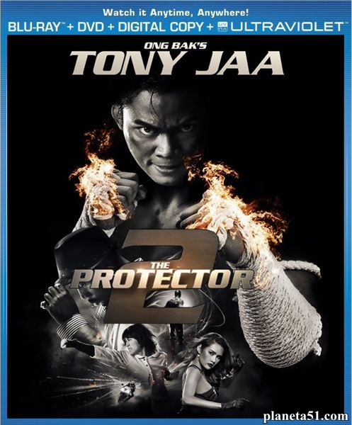 Честь дракона 2 / The Protector 2 / Tom yum goong 2 (2013/BDRip/HDRip)