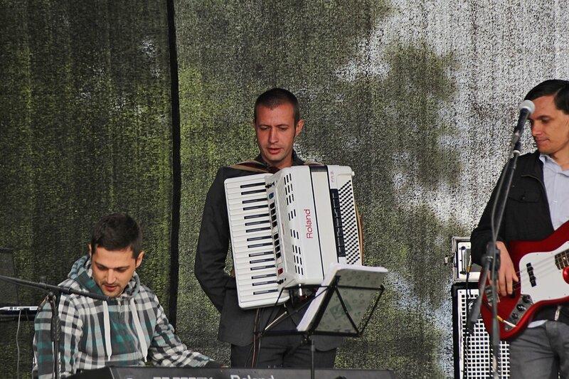 Аккордеонист из El tango на фестивале «Джаз над Вяткой»