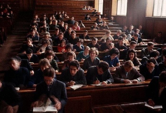 МГУ, 1964 год.
