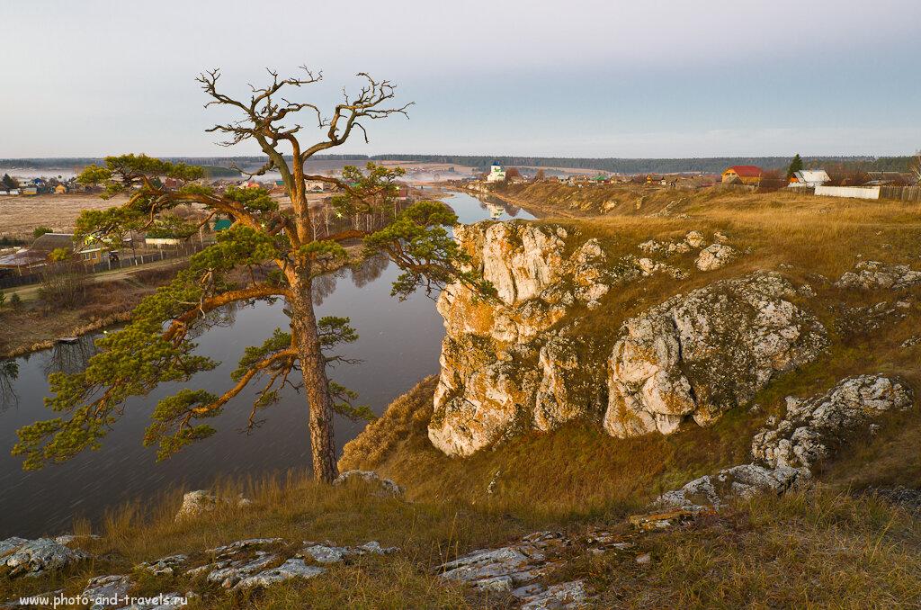 Вид на Слободской камень... Пример фотографии, снятой на Smayng 14 мм/2,8 и любительскую фотокамеру Nikon D5100.