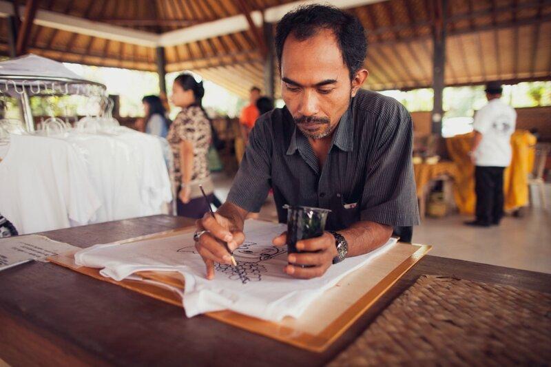 Батик на Бали