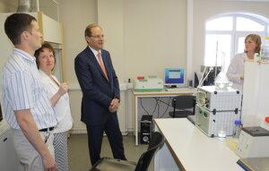 Академпарк с рабочим визитом посетил Губернатор Новосибирской области