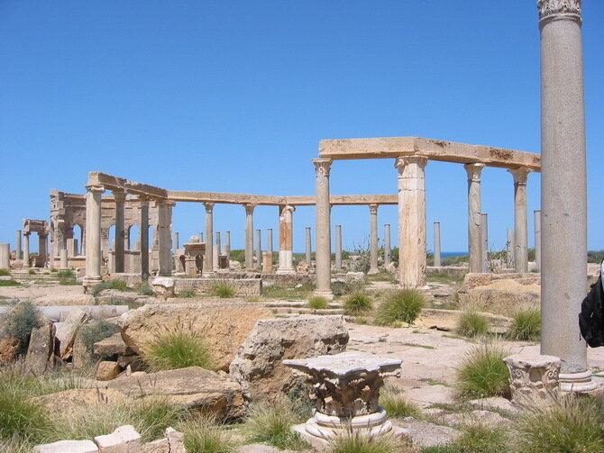 Лептіс-Магна.  Лівія