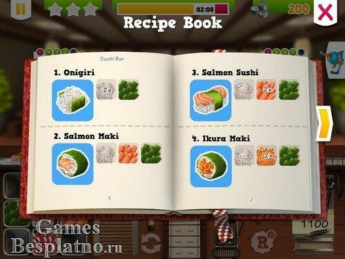 Youda Суши шеф 2 / Youda Sushi Chef 2