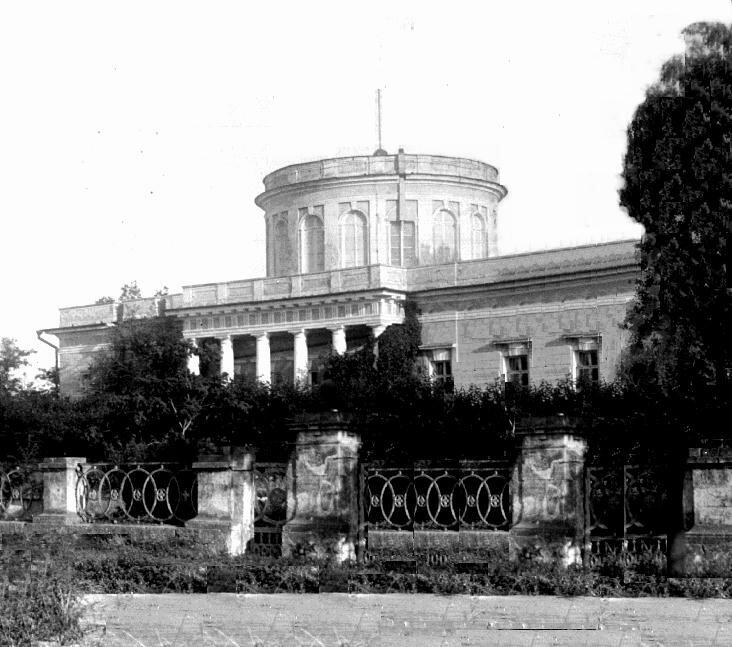 Обсерватория в 1910-е годы