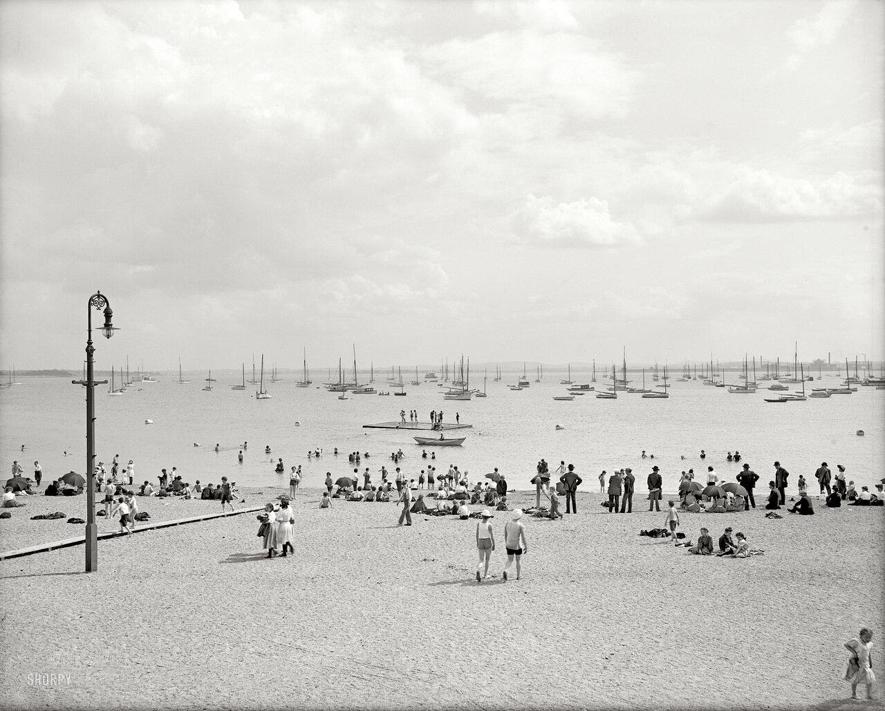 1906. Бостонские купальщики