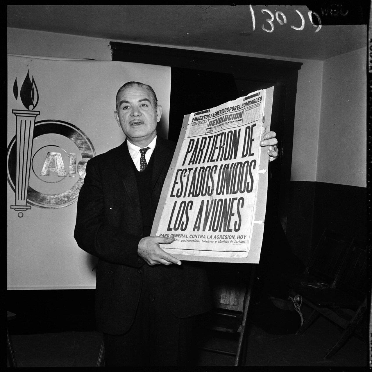 1961.13 декабря. Проект Тревога (антикоммунистическая конференция). Жозе Норман (Куба)