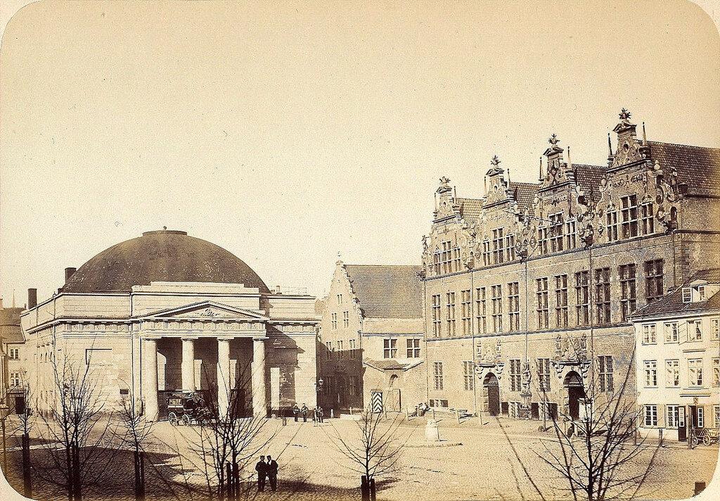 Данциг. Театр. 1865