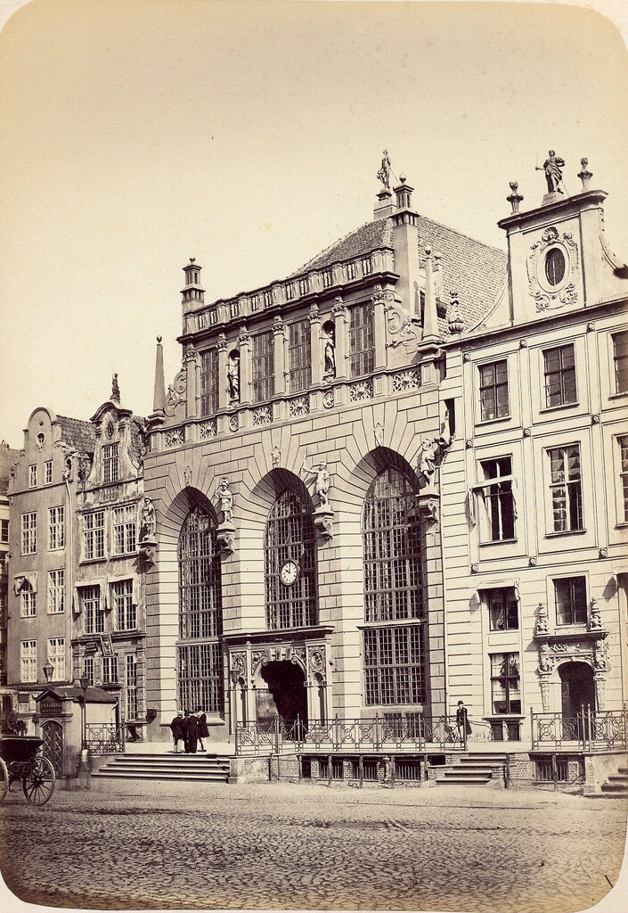 Данциг. Артус. 1865