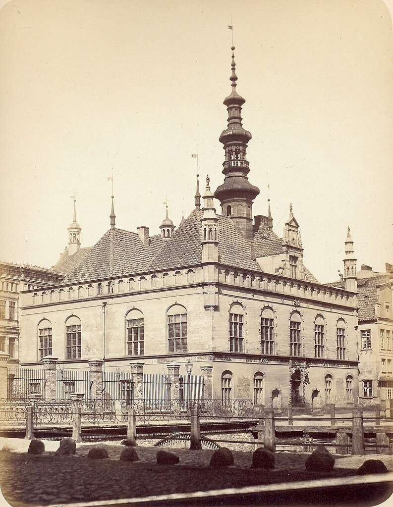 Данциг. Ратуша. 1865