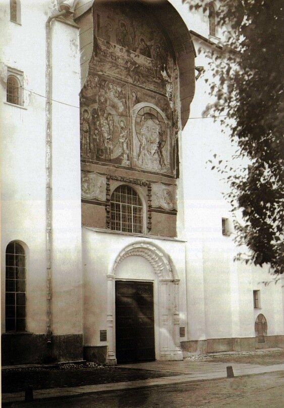 Архирейский вход в Софийский собор