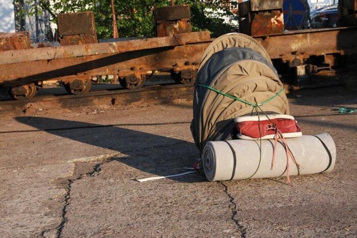 Рюкзак-спальник от Терплинга