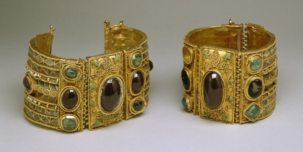 Bracelets from the Olbia Treasure Hellenistic Greek 2nd-1st Century BC
