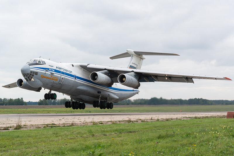 Ильюшин Ил-76М (RA-86875) ВВС России D802605