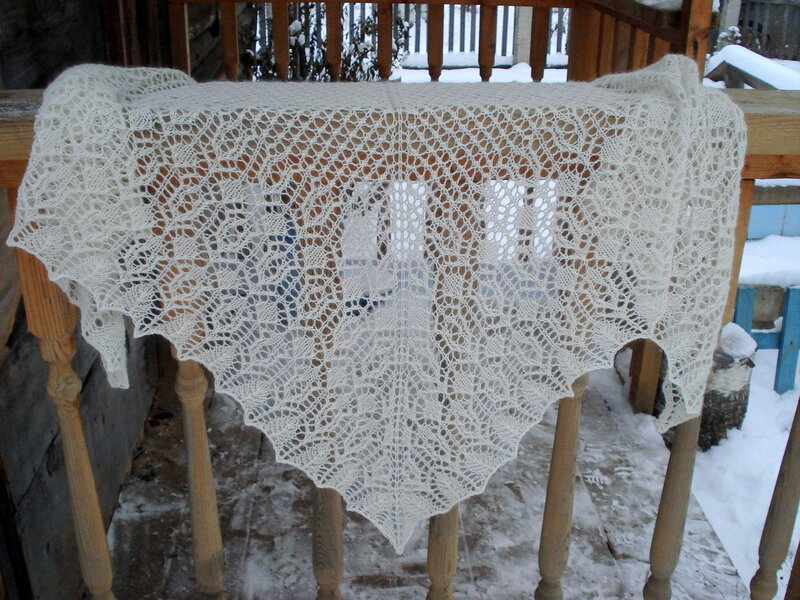 Шаль Old Balustrade Shawl