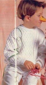 Модные мальчишечки (вяжем пуловер)