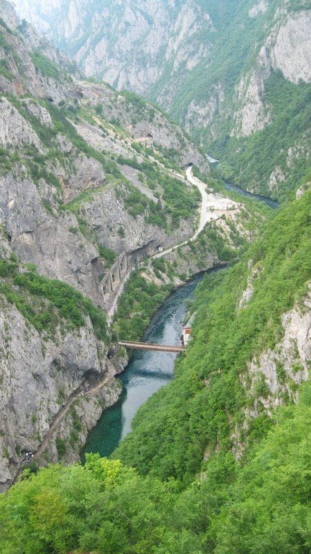 река Пива у Дамбы