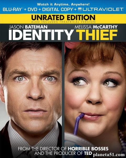 Поймай толстуху, если сможешь / Identity Thief (2013/BDRip/HDRip)