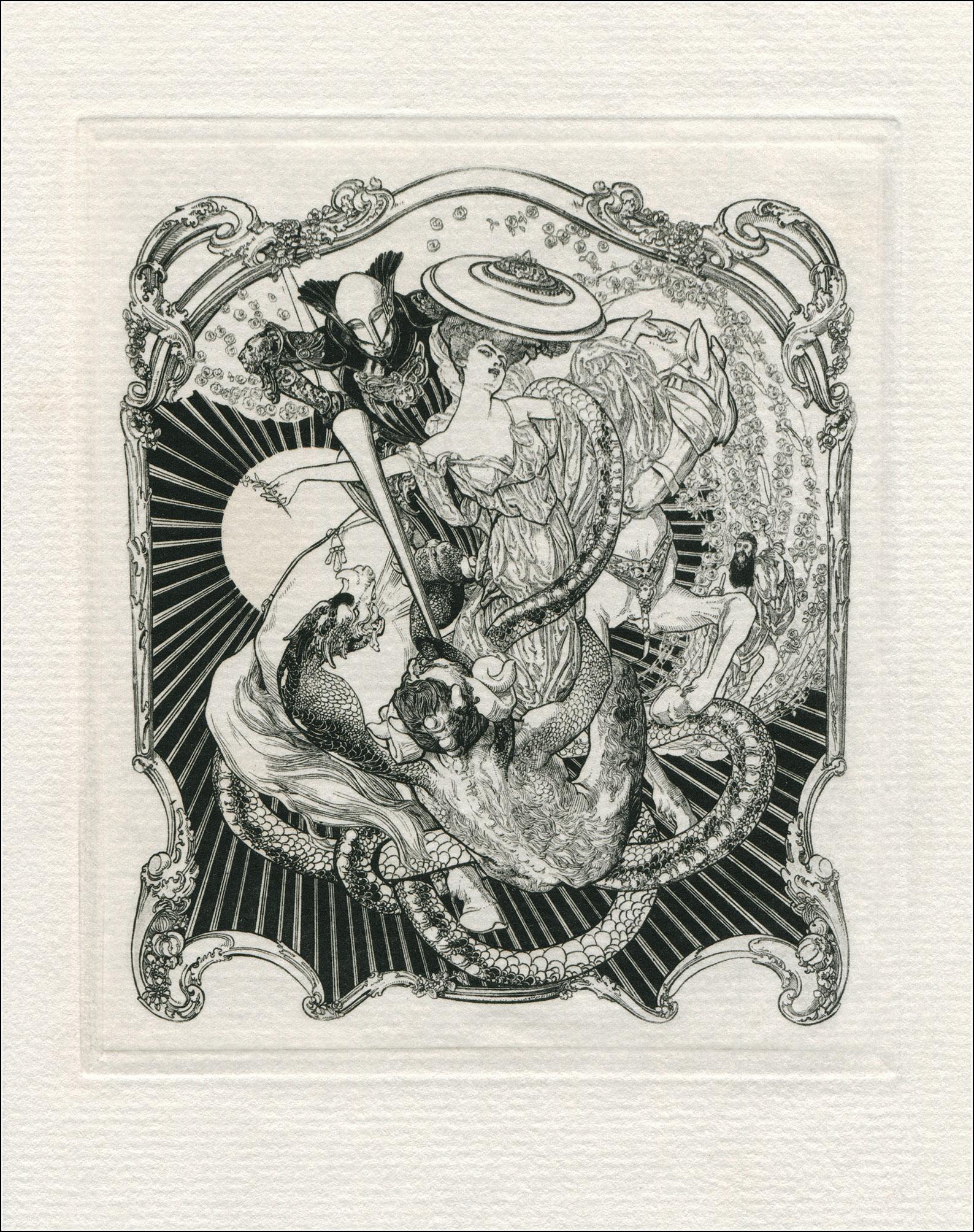 Franz von Bayros, Dulces Umbras