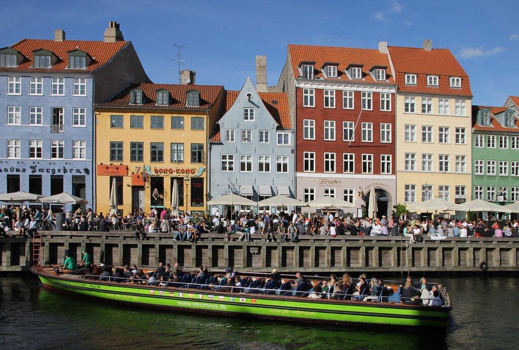 Copenhagen, New Harbor (Nyhavn)