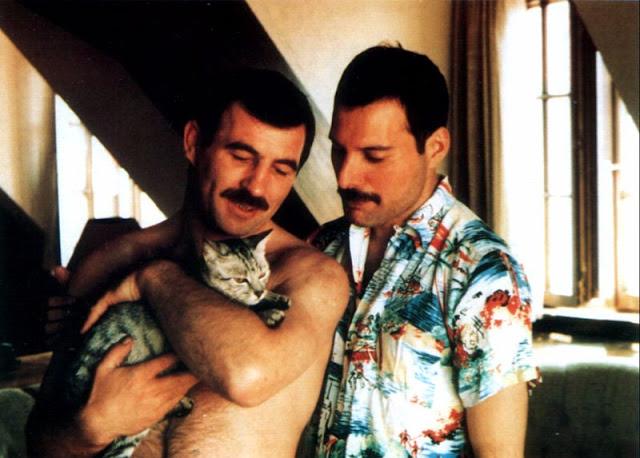 Личные фотографии Фредди Меркьюри и его бойфренда 1980-х годов (17 фото)