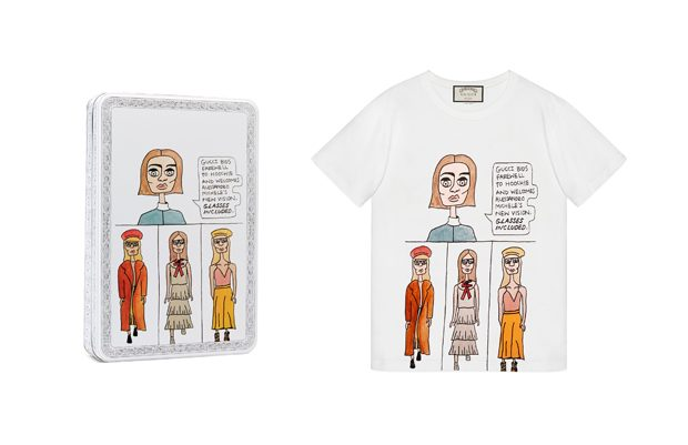 GUCCI X ANGELICA HICKS ART PROJECT (24 pics)