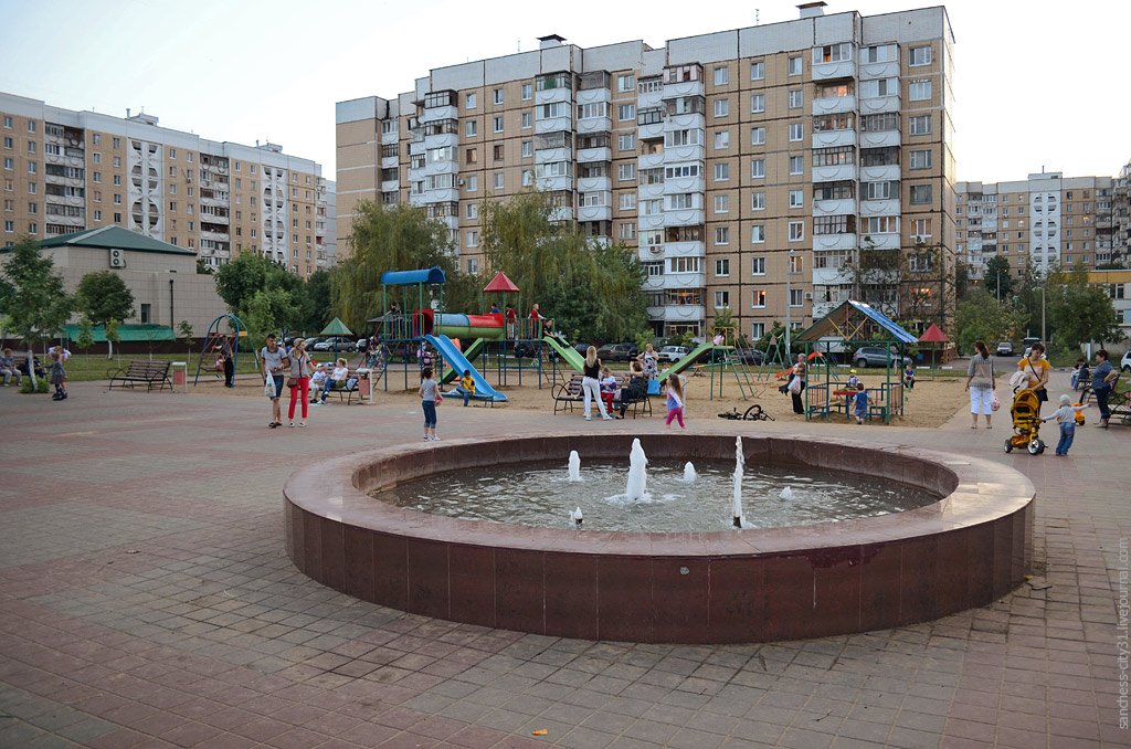 фонтан на Водстрое, Белгород, фото Sanchess