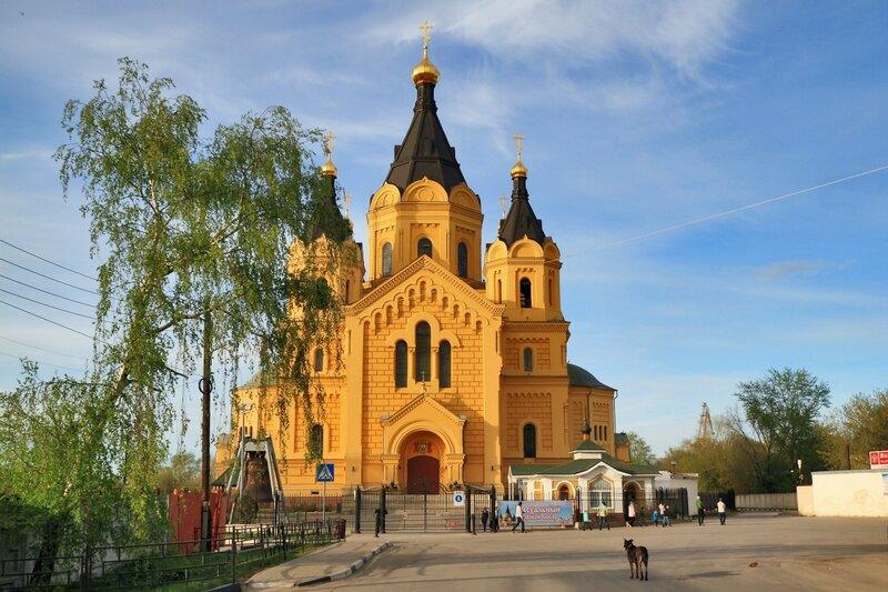 Кафедральный собор Александра Невского в Нижнем Новгороде