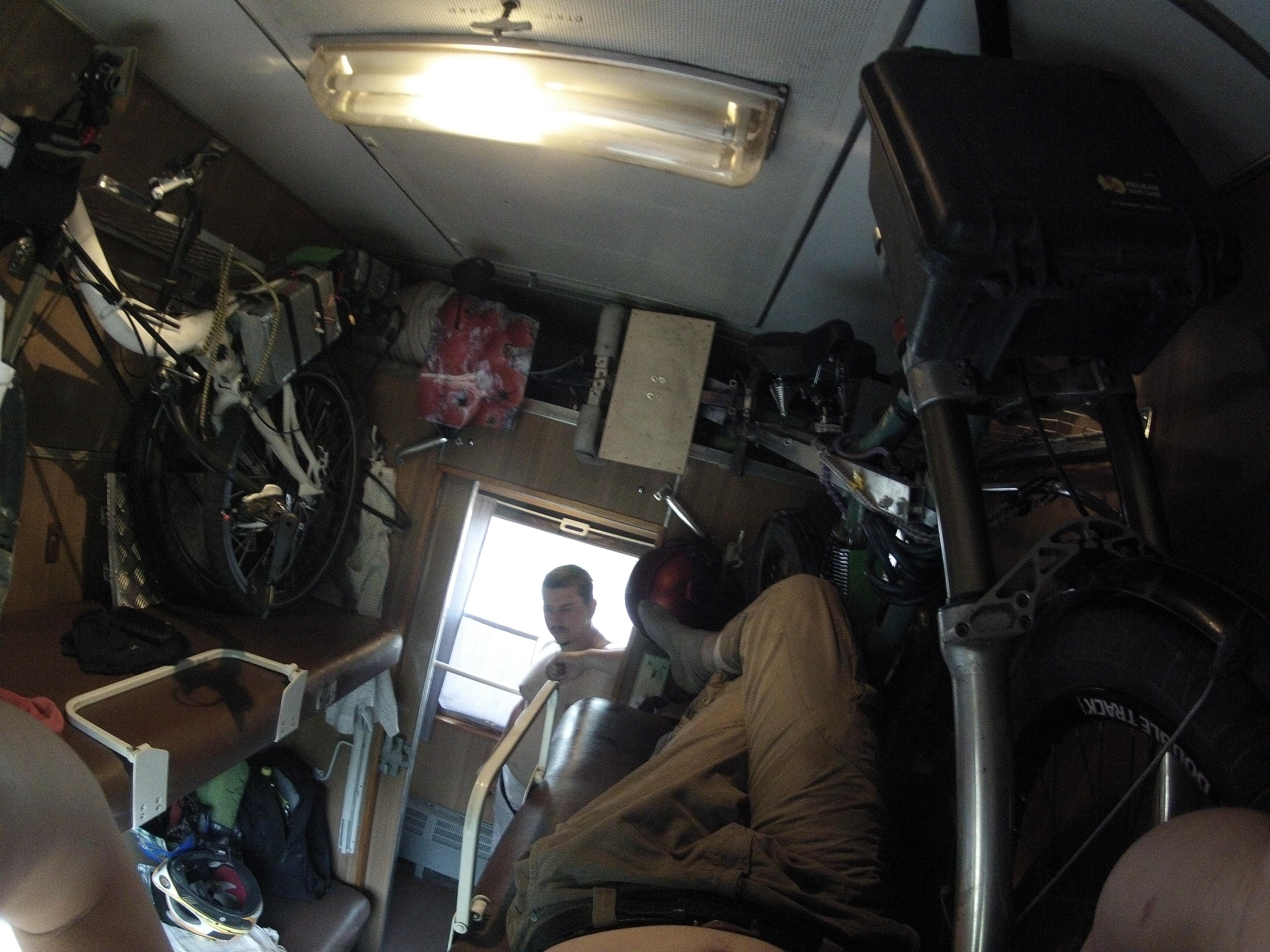 Провоз складного электровелосипеда в поезде (Москва-Киев)