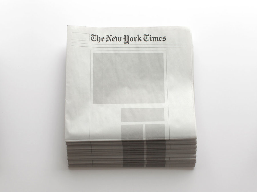 Empty Newspapers by Sideline Collective (12 pics)