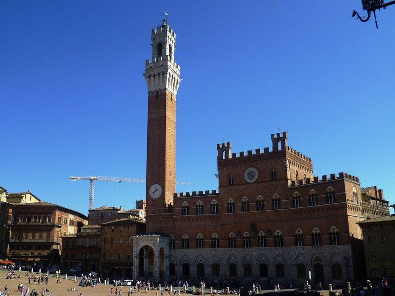 Италия. Башня в Сиене (Italy. Tower in Siena).
