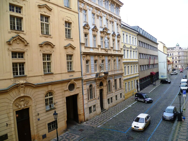 Улицы в Праге, Чехия (Street in Prague, Czech Republic)
