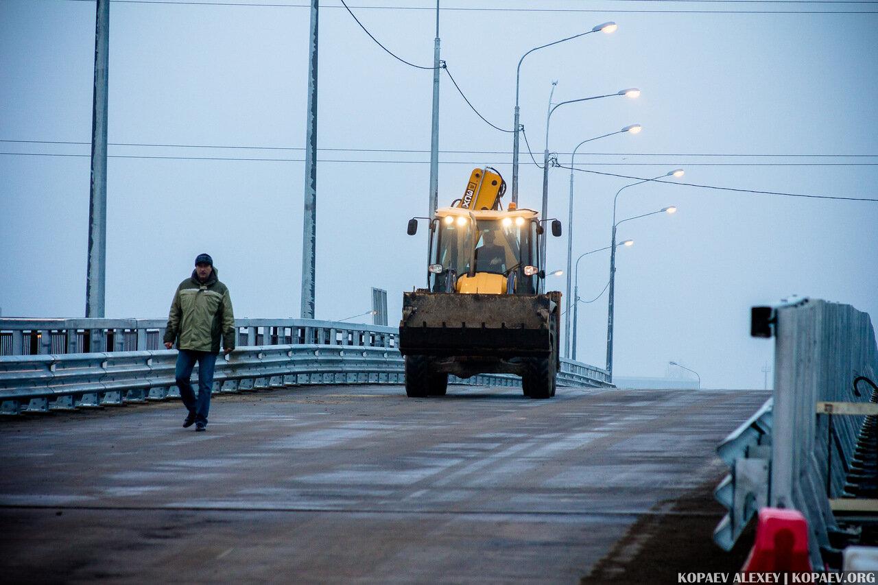 Переезд в Волгограде в сторону Аэропорта