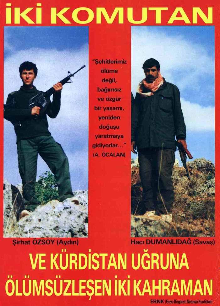 Герои Национального фронта освобождения Курдистана