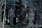 1941-10-12 Небольшой пруд кармы, сауна. / Воскресенье, Сауна на берегу пруда является небольшой lmpi карма. 12.-13.10.1941. Примечание: Информация о докладах, vrikuvien. На втором месте в Hanhijrvi-Vermajoki (lntinen на севере Viena) и в то время 12.-13.10.1941 (12.10. было воскресенье). Место: Алакуртти (Salla)-Vilmajoki
