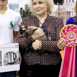 Best of Best IV - 184 Danaya Del Iris (Female) PBD n 33 Гальченко Ю. Камея Иркутск