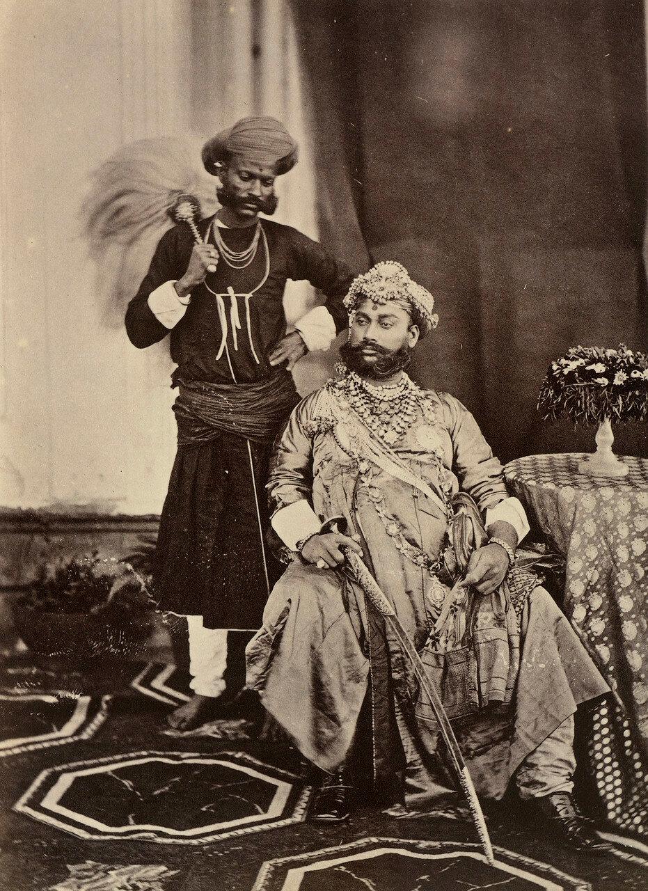 137. Тукоджи Рао Холкар II, Махараджа Индора (1835-86)