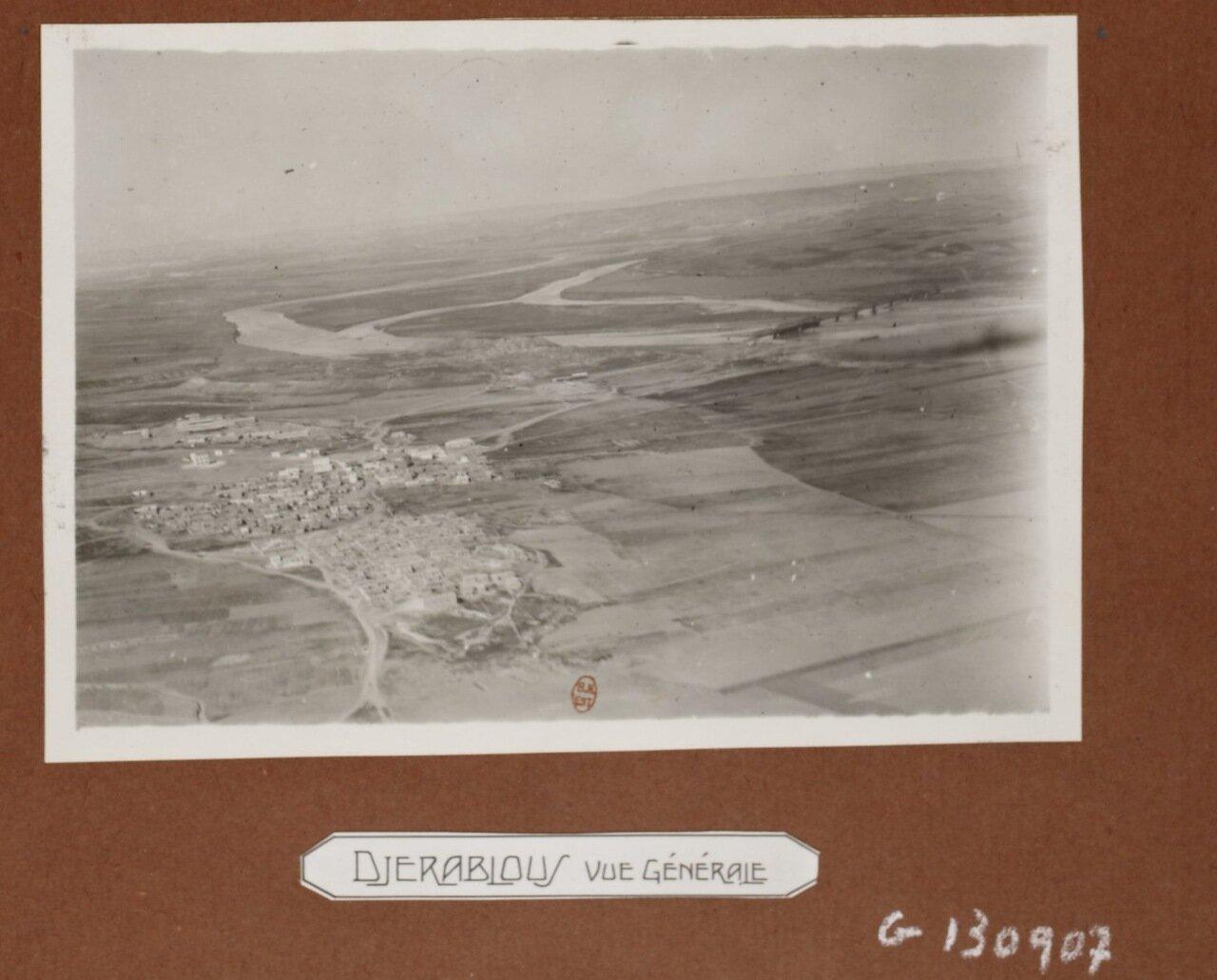 Джараблус. Панорама города