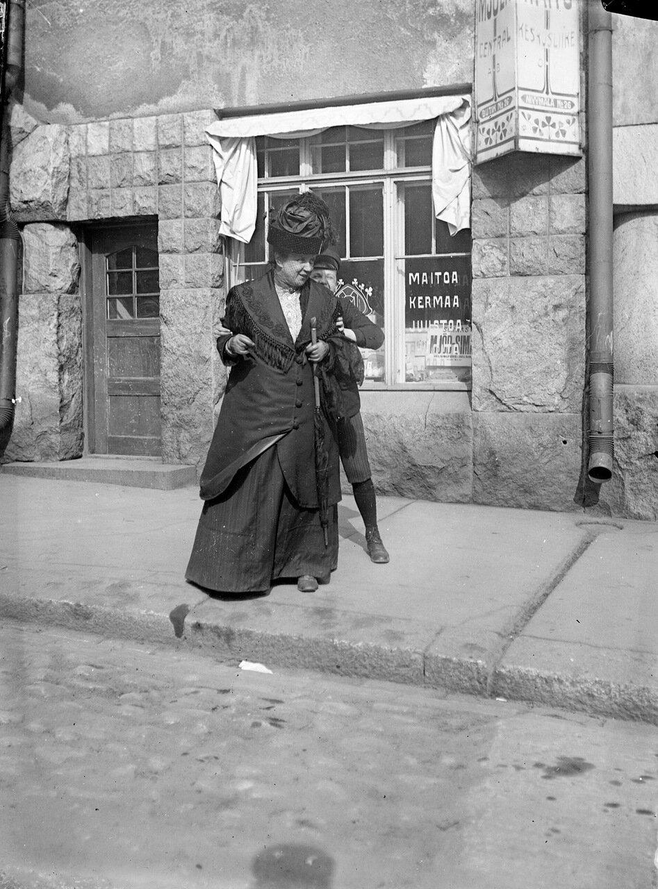 Йоханна и Генри Шубергсон на Катаяноканкату, 1906.